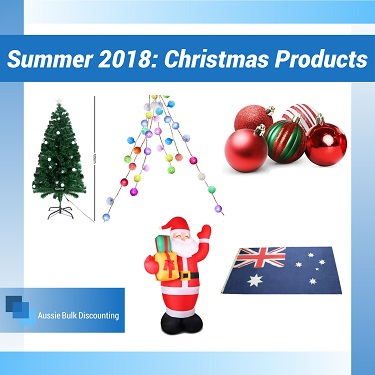 Summer 2018: Christmas Products From Aussie Bulk Discounting