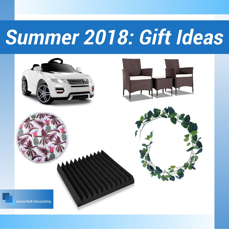 Summer 2018: Christmas Gift Ideas